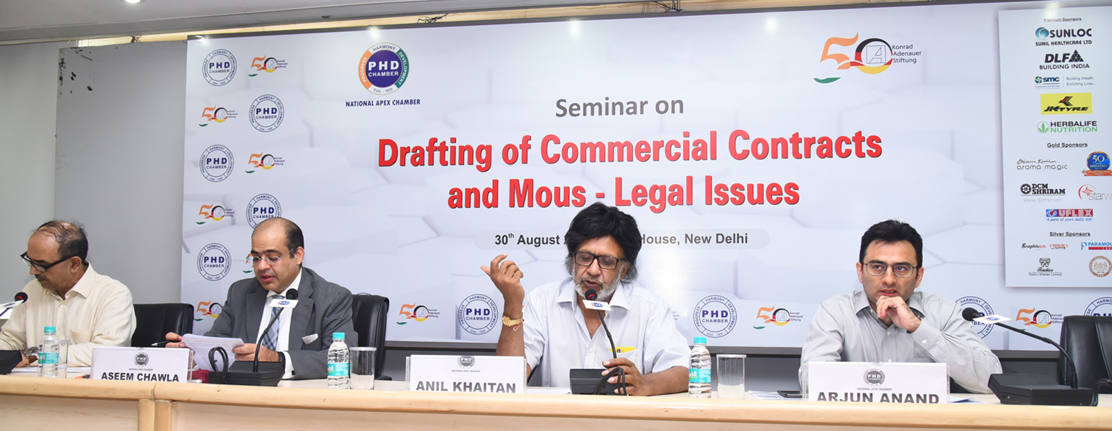 "Seminar on ""Drafting of Commercial Contracts and MOUs – Legal Issues"""