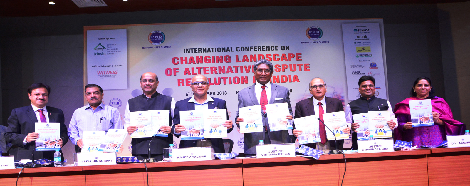International Conference on Changing Landscape of Alternative Dispute Resolution in India