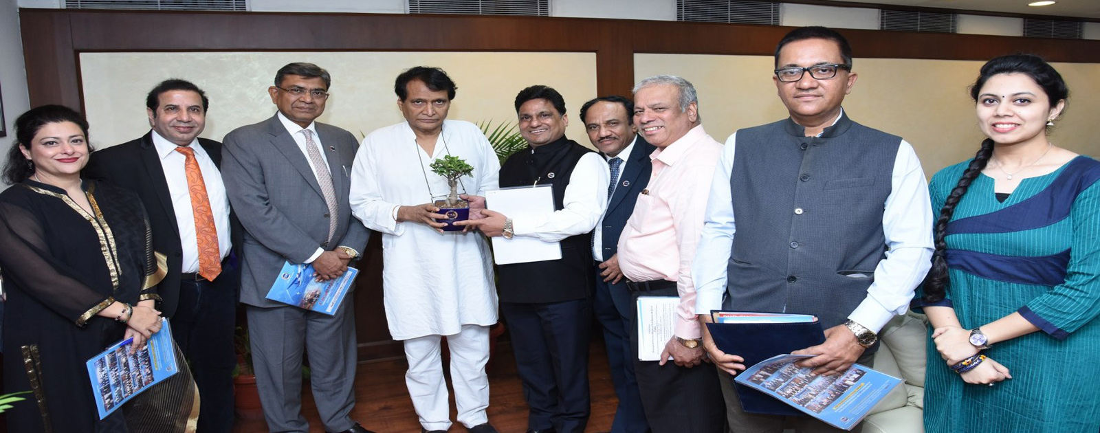 Call on Meeting with Dr Suresh Prabhu, Union Minister of Civil Aviation