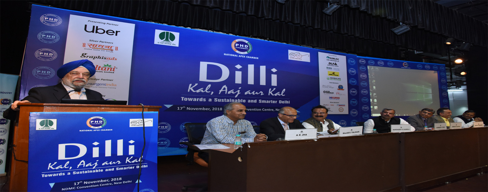 Dilli : Kal, Aaj aur Kal – Towards a Sustainable and Smarter Delhi