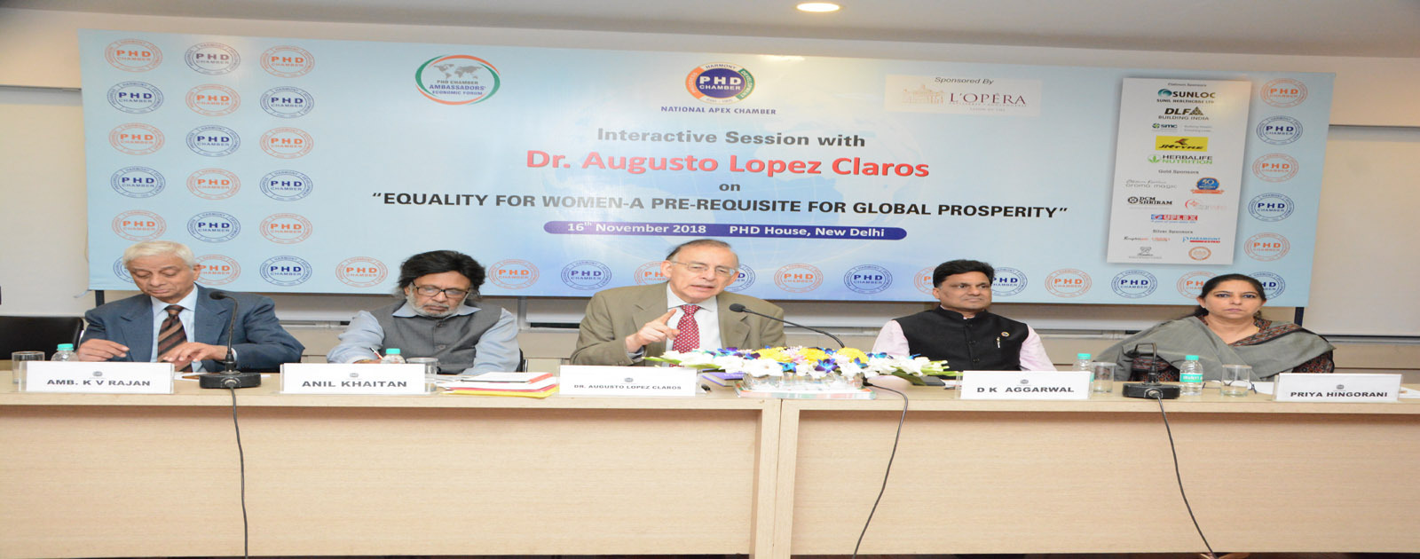 Interactive Session on Equality for Women – A Pre-Requisite for Global Prosperity
