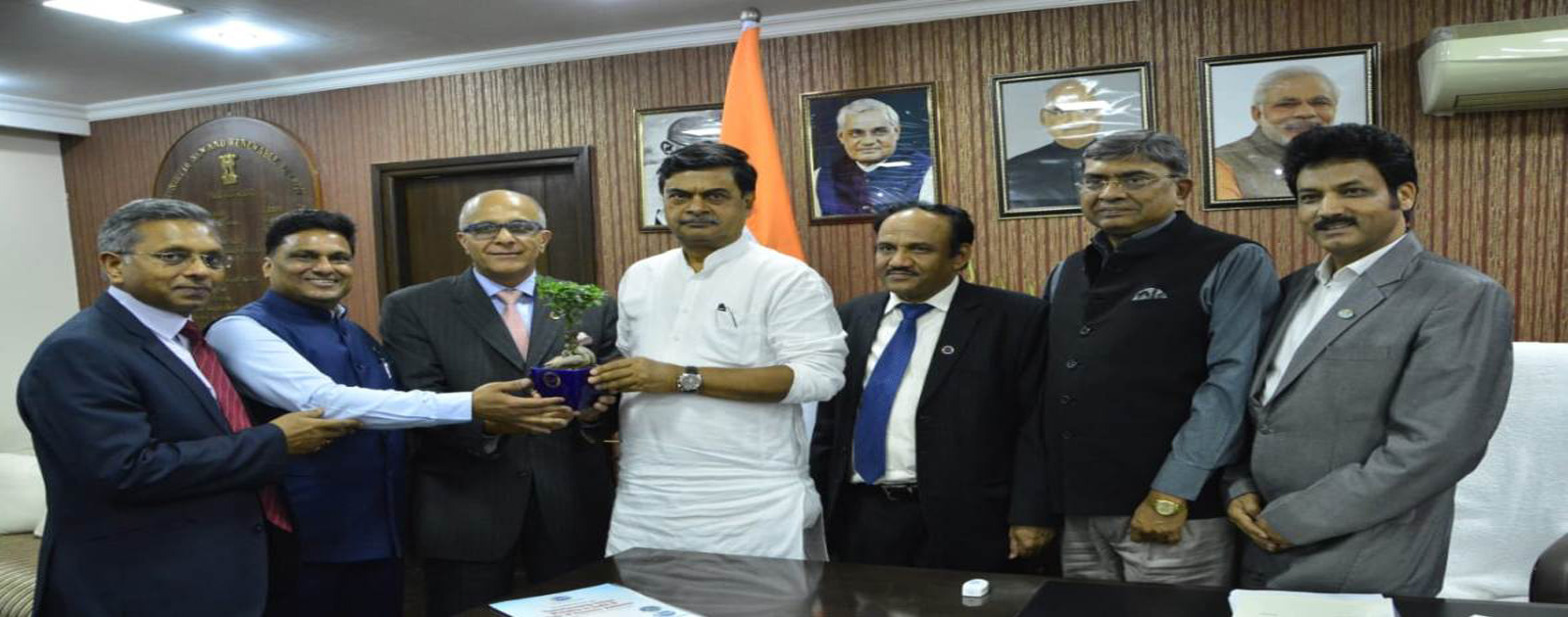 Call on Meeting with Mr R K Singh, Hon'ble Minister of State (IC) for Power and New & Renewable Energy, Government of India