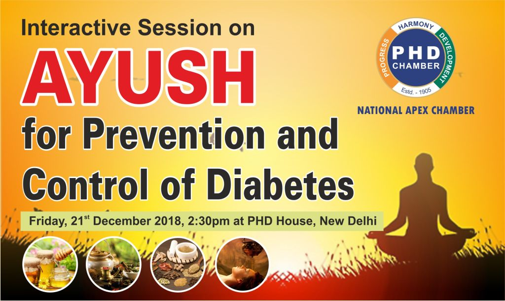 """AYUSH for Prevention and Control of Diabetes"""