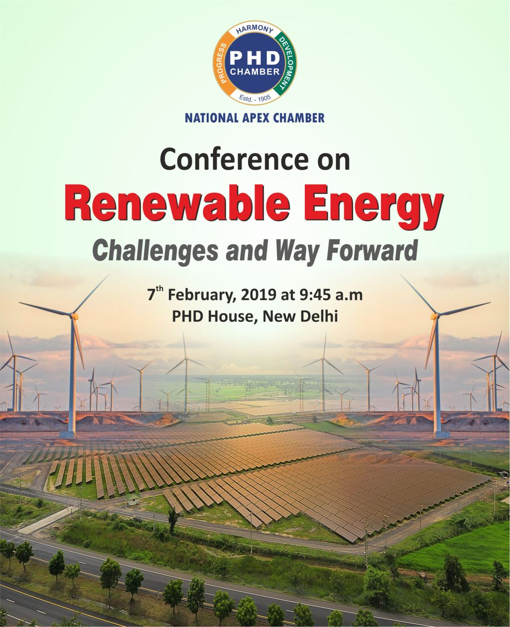 Conference on Renewable Energy -Challenges and Way Forward