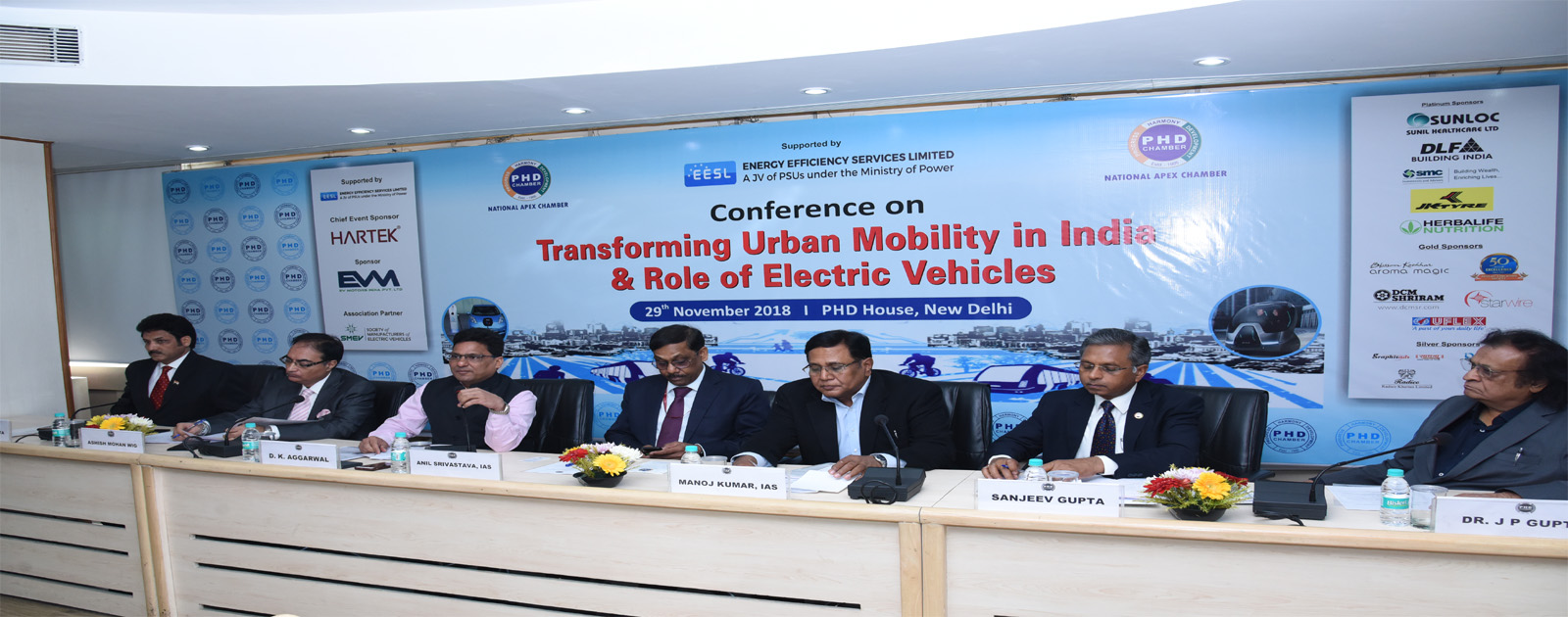 "Conference on ""Transforming Urban Mobility in India & Role of Electric Vehicles"""