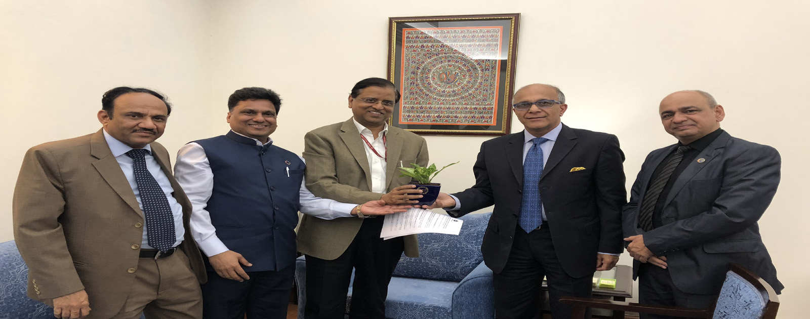 Call on Meeting with Shri Subhash Chandra Garg, Secretary, Department of Economic Affairs, Ministry of Finance