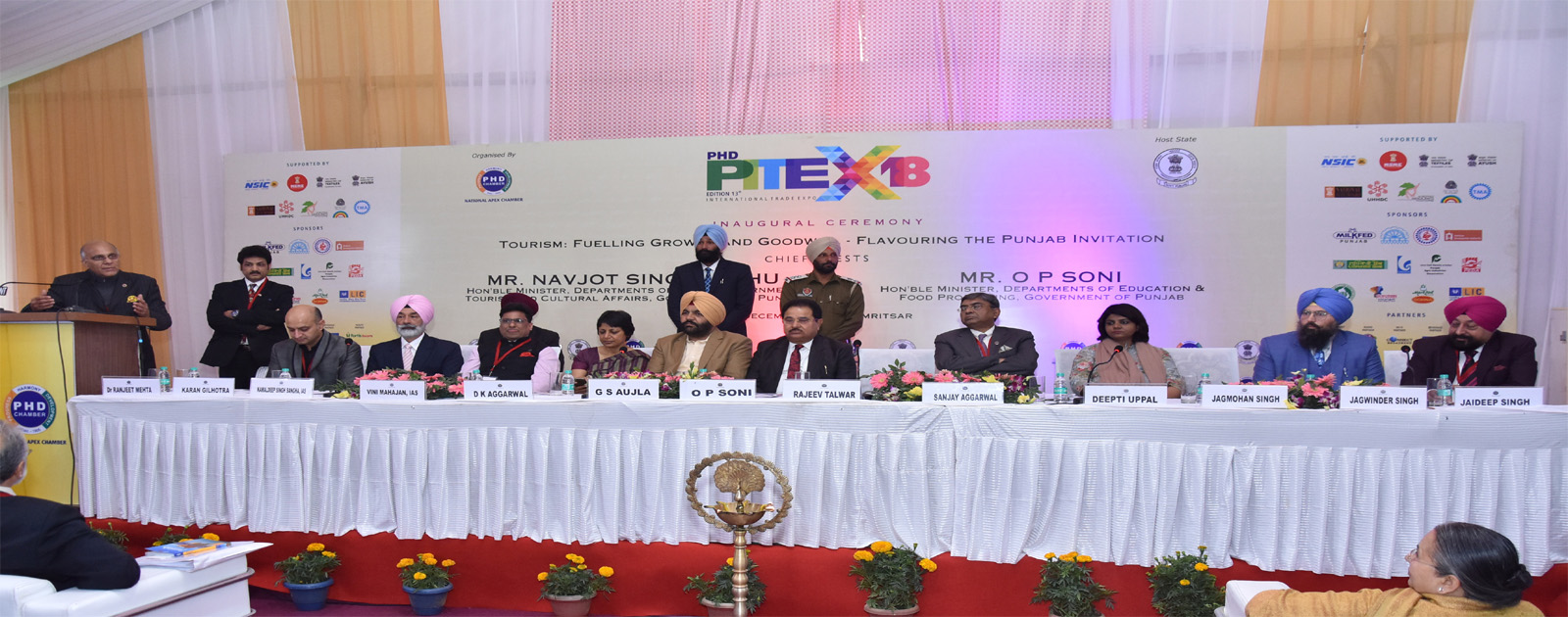 Inaugural ceremony of PITEX 2018