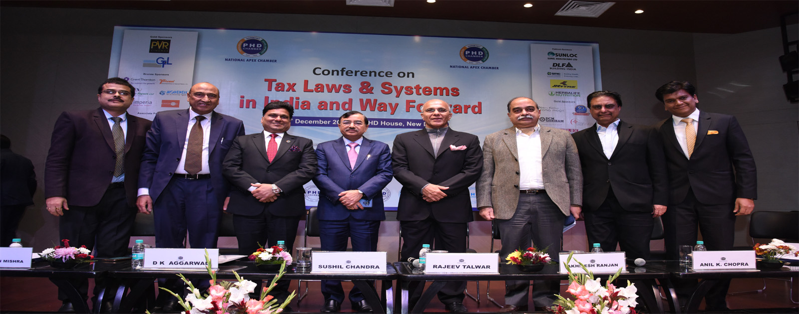 "Conference on ""Tax Laws & Systems in India and Way Forward"""