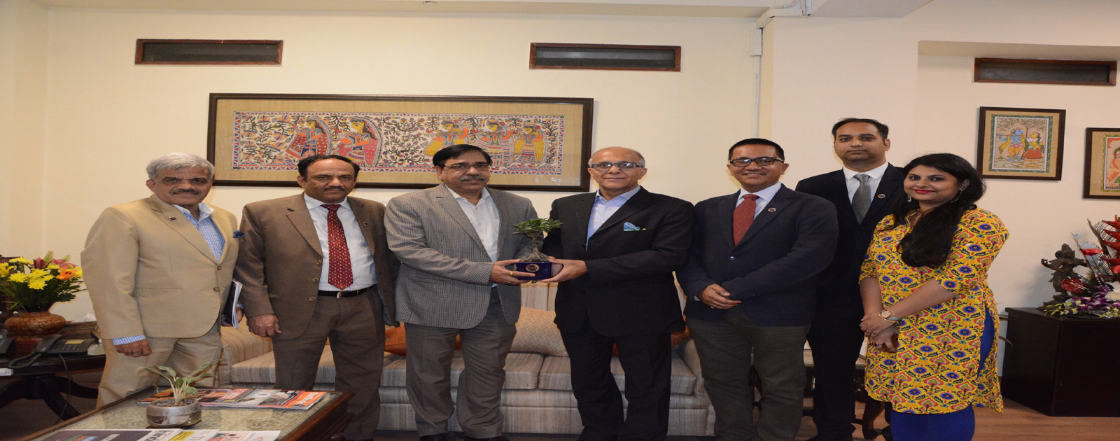 Call on Meeting with Shri Yogendra Tripathi (IAS),  Secretary, Ministry of Tourism, Government of India
