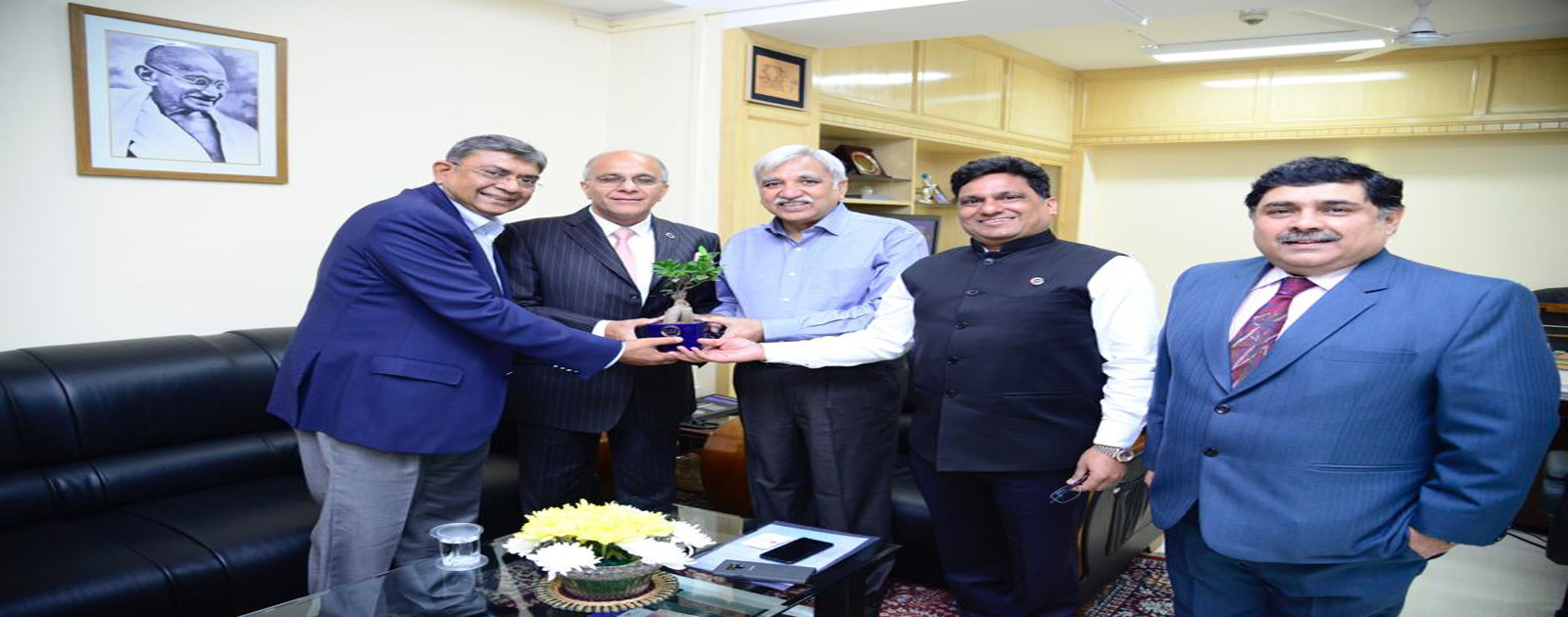Call on Meeting with Shri Sunil Arora, Chief Election Commissioner of India