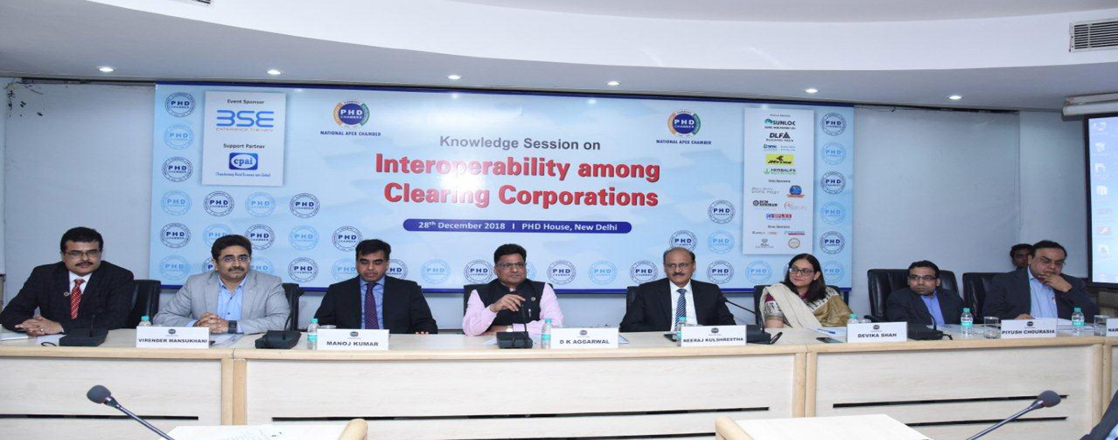 Knowledge Session on Interoperability among Clearing Corporations