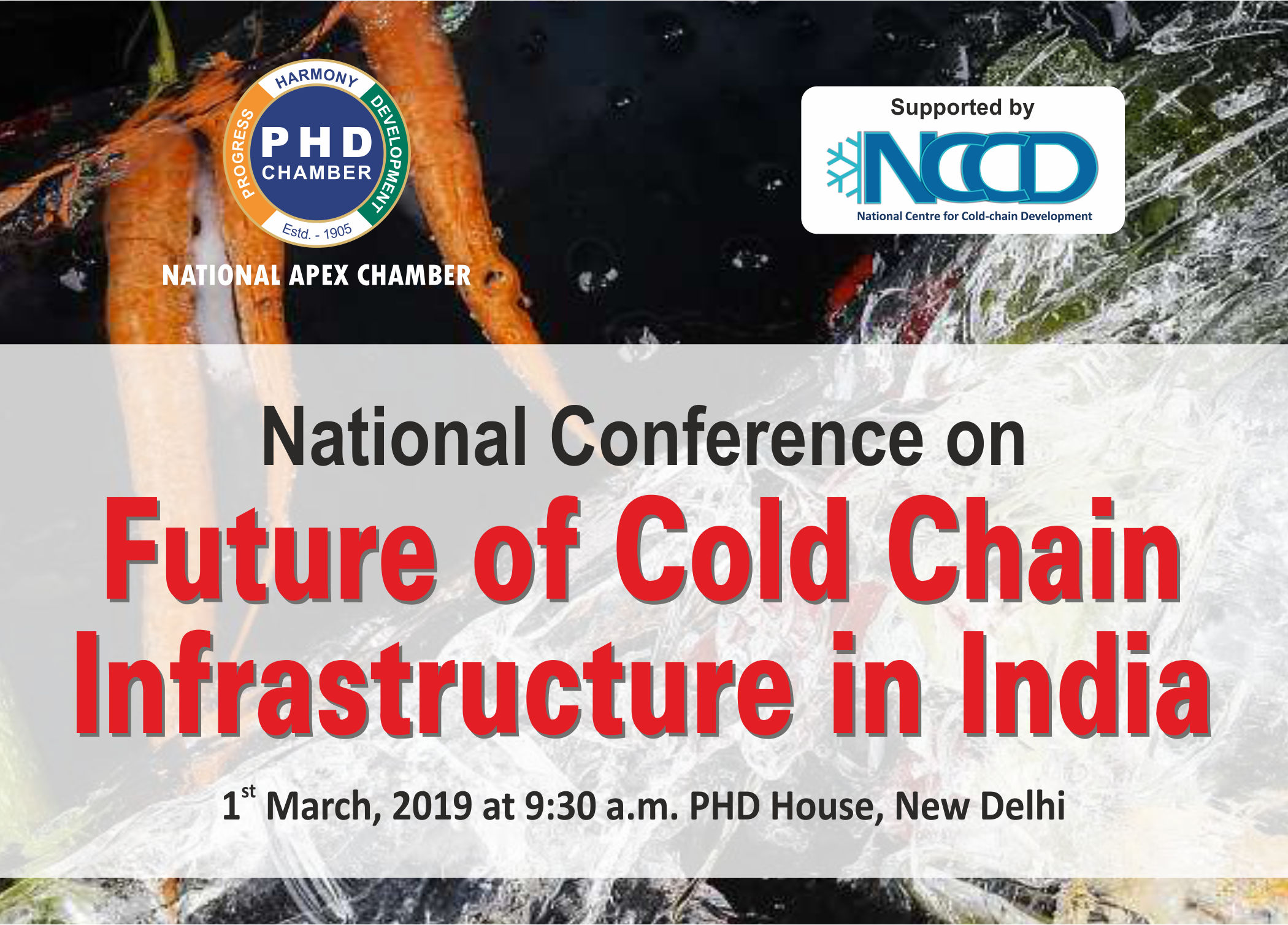 National Conference on Future of Cold Chain Infrastructure in India
