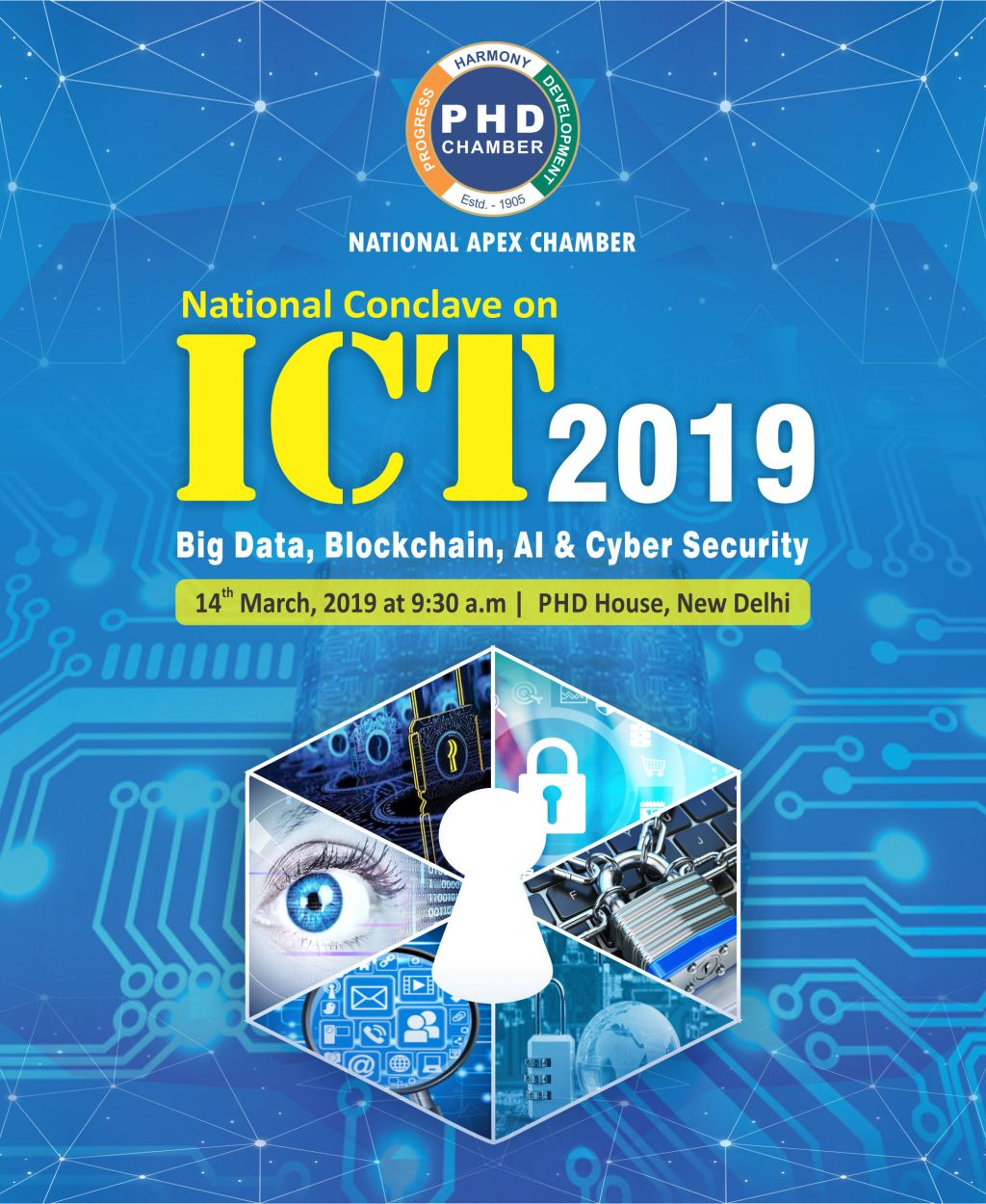 National Conclave on ICT -2019- Big Data, AI and Cyber Security