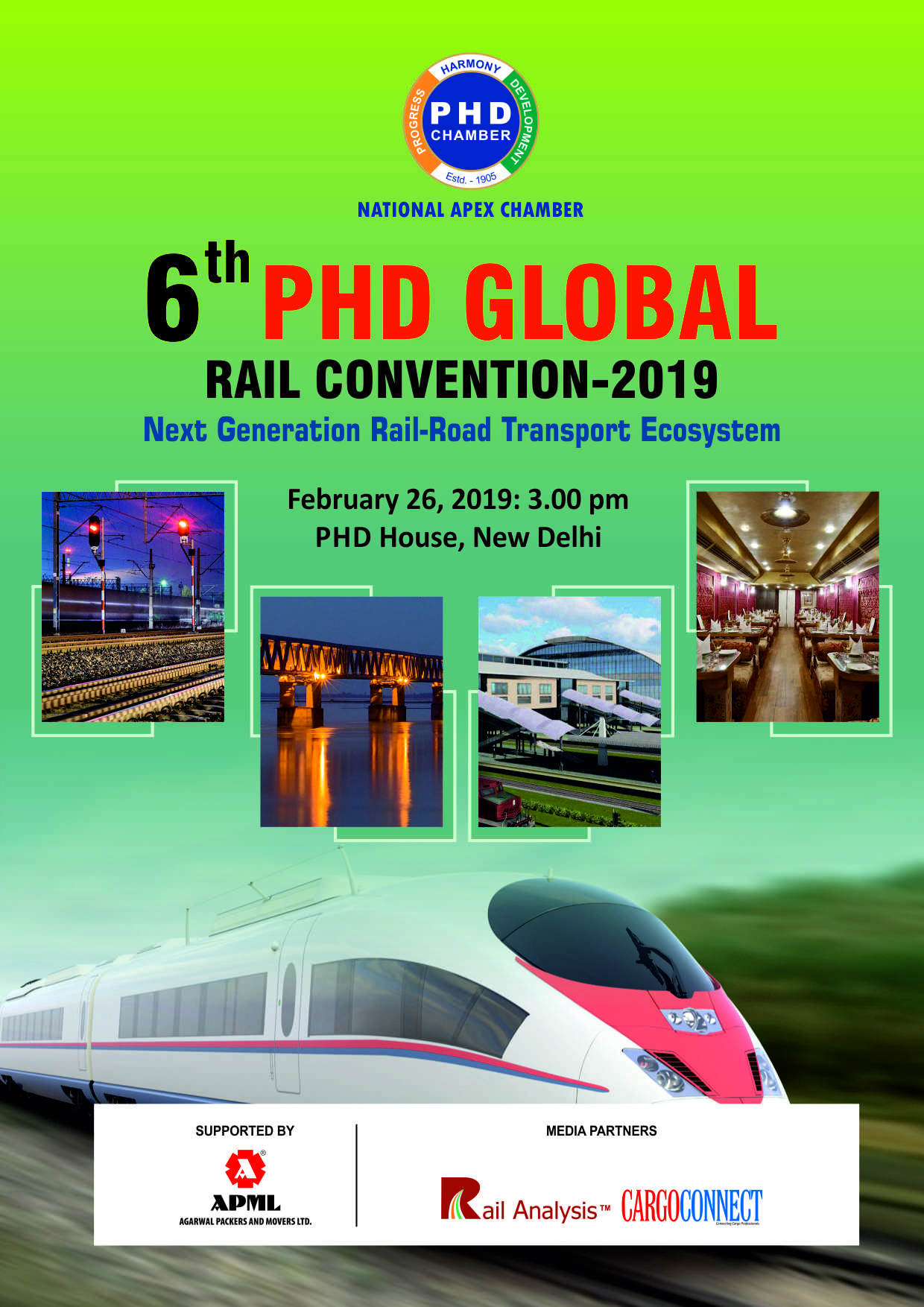 6th PHD Global Rail Convention – 2019