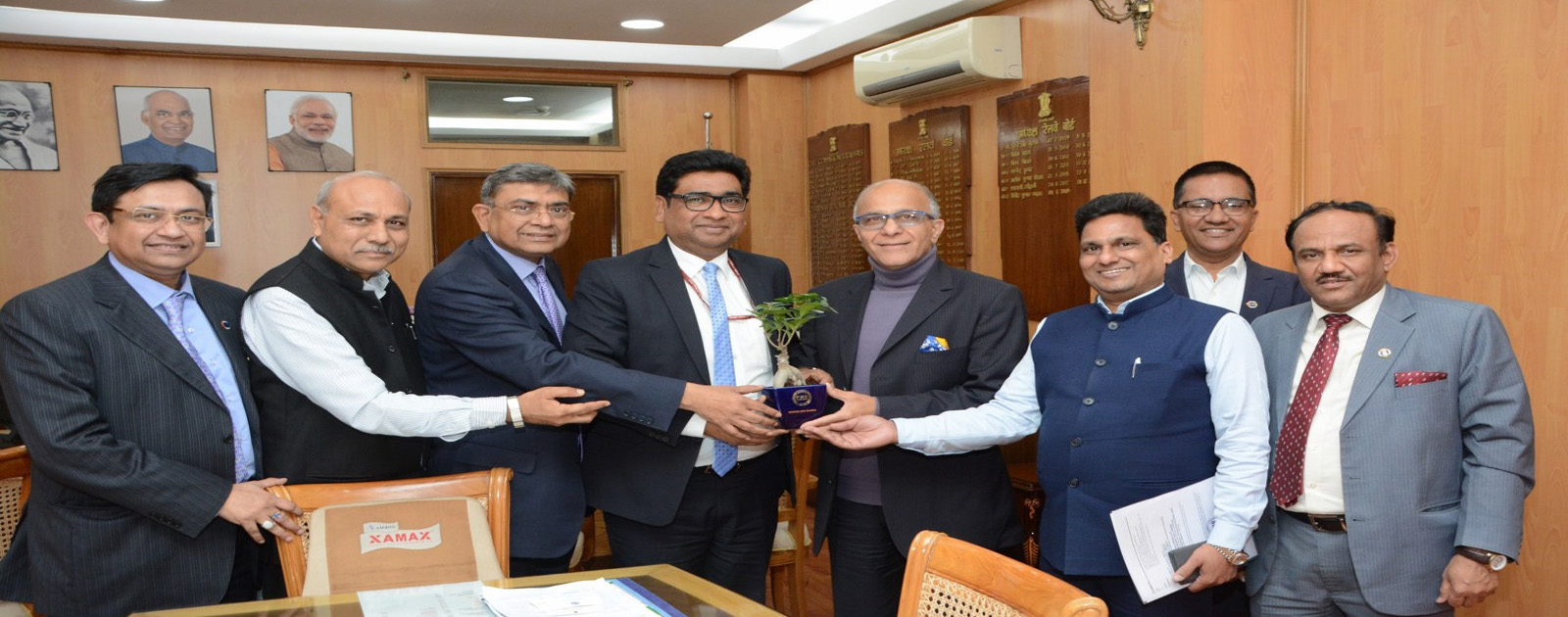Call on Meeting with Mr.Vinod Kumar Yadav (IRSEE), Chairman, Railway Board