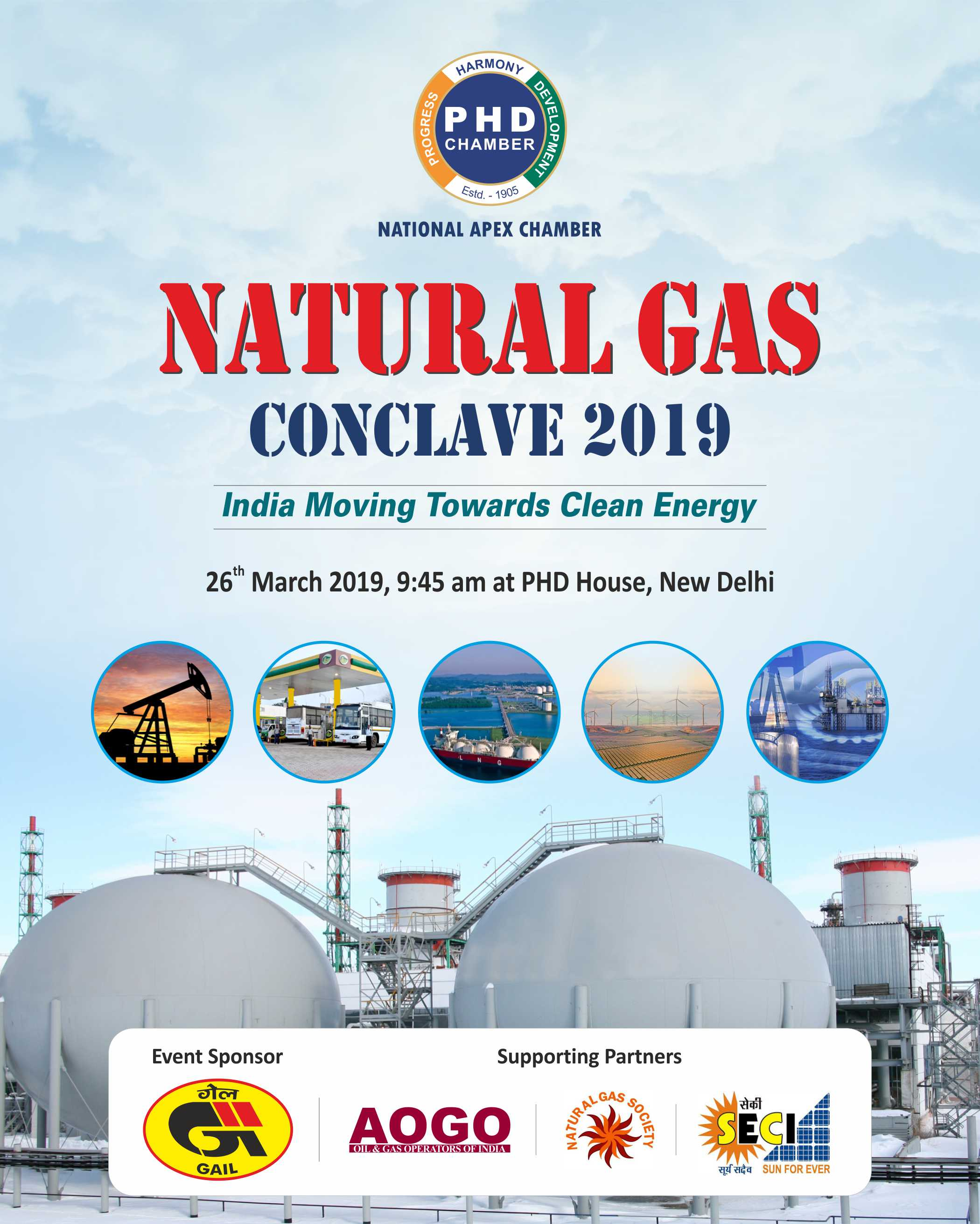 Natural Gas Conclave 2019 – India Moving towards Clean Energy