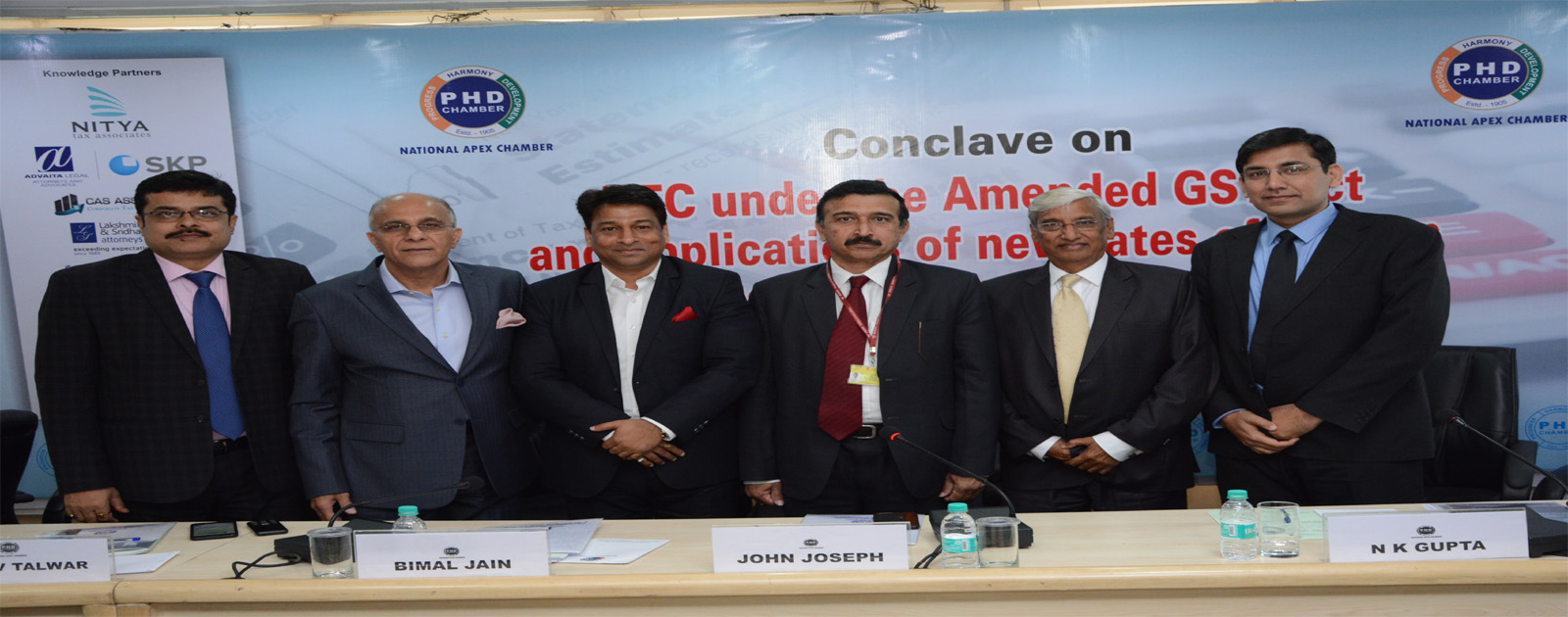 Conclave on ITC under the Amended GST Act and implications of new rates of GST on Real Estate and Construction Sector