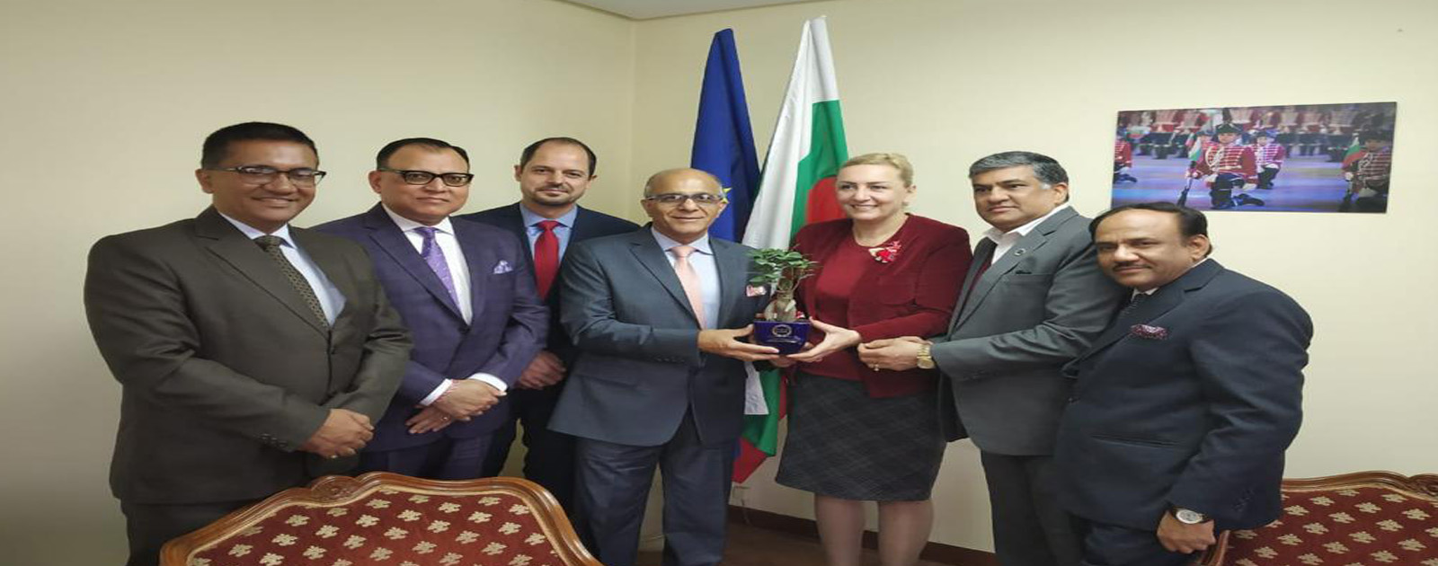 Call on Meeting with H.E. Mrs. Eleonora Dimitrova, Ambassador, Embassy of the Republic of Bulgaria