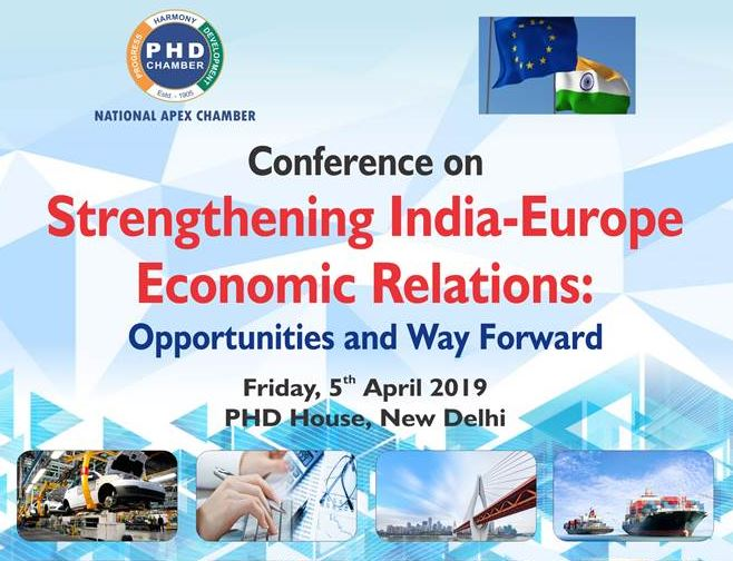 Conference on Strengthening India‐Europe Economic Relations: Opportunities and Way Forward