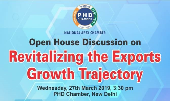 Open House Discussion on Revitalizing the Exports Growth Trajectory