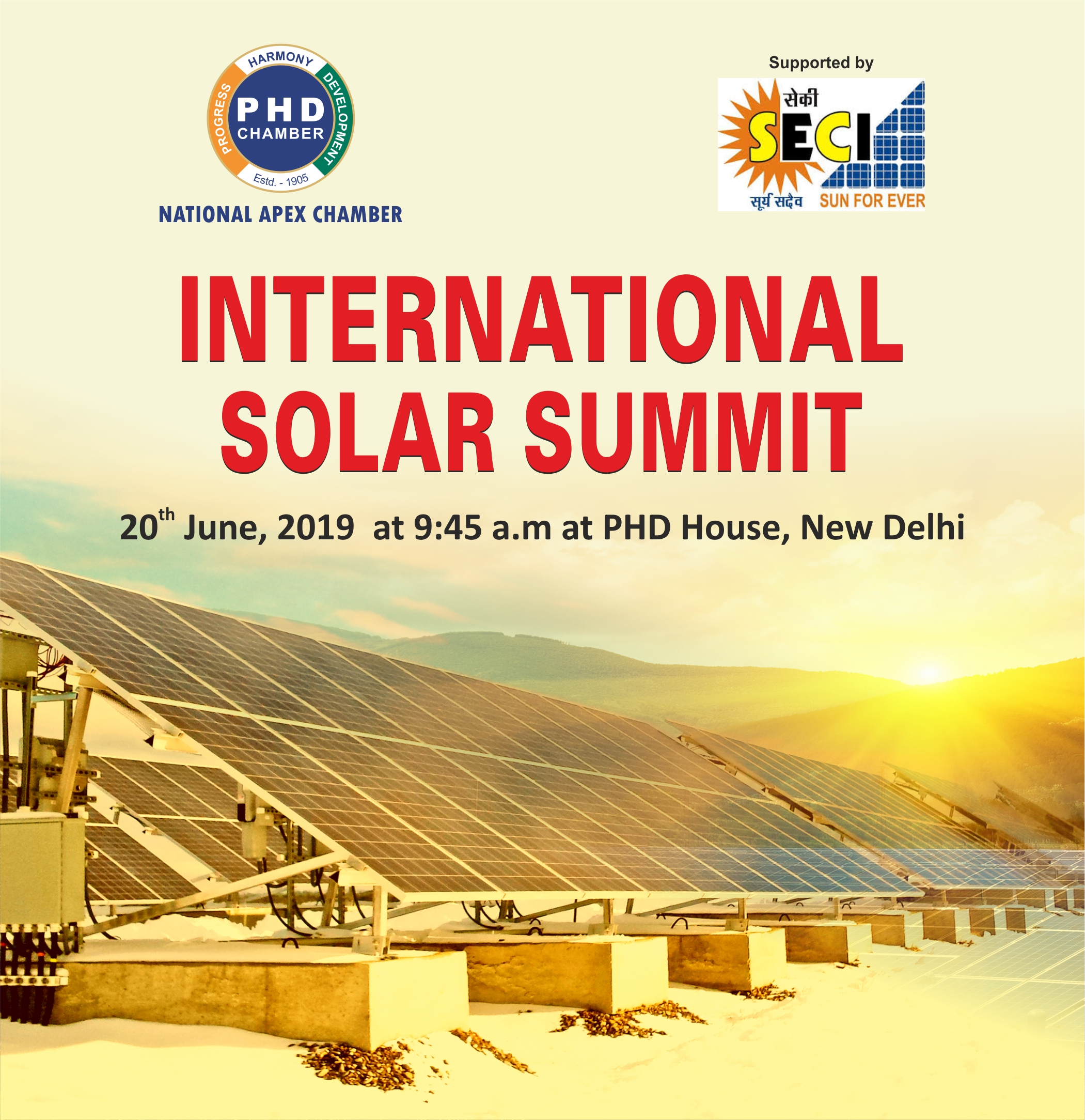 International Solar Summit