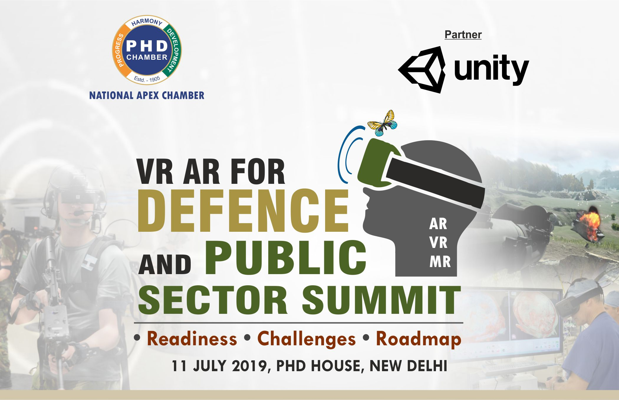 VR AR FOR DEFENCE AND PUBLIC SECTOR SUMMIT(INVITATION IS ONLY FOR PERSONNEL FROM DEFENCE/PARAMILITARY/POLICE/PSUs/RESEARCH INSTITUTES)