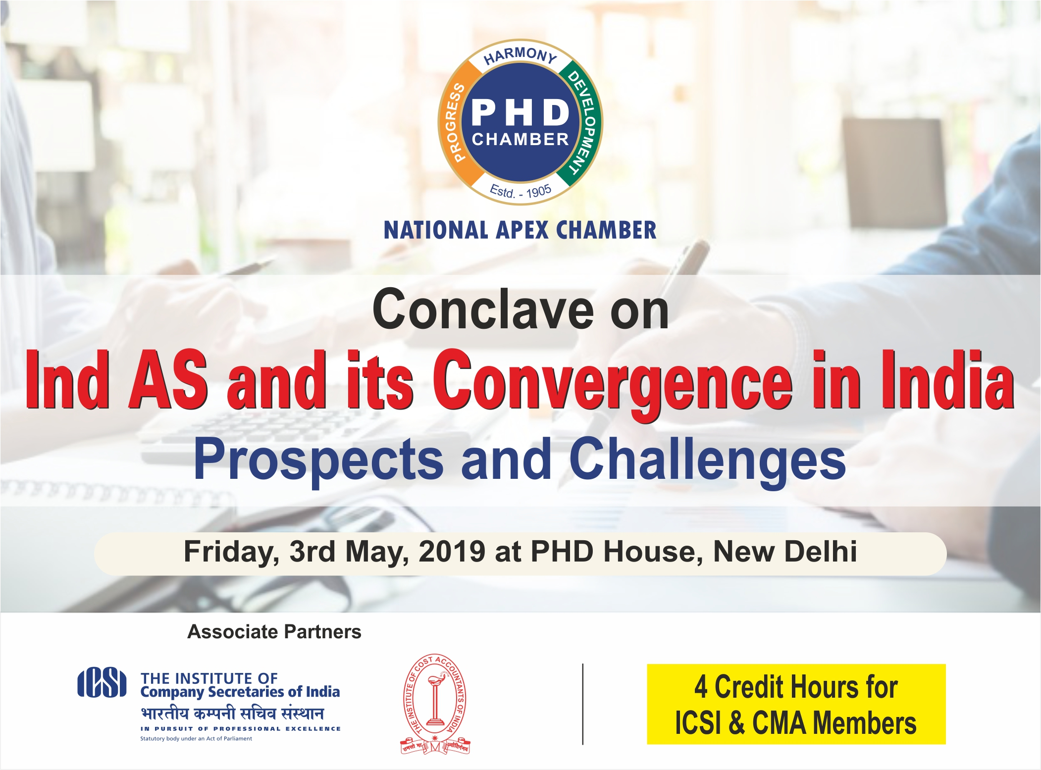 Conclave on Ind AS and its Convergence in India- Prospects and Challenges