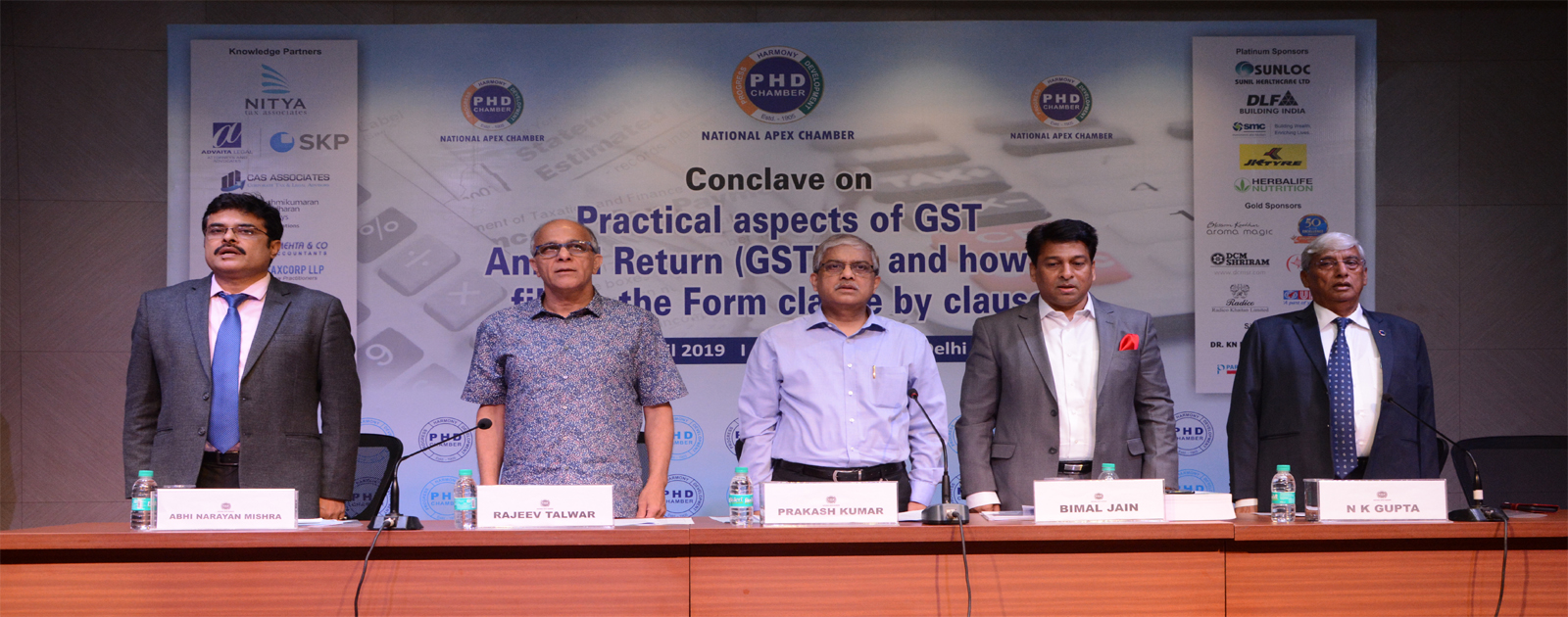 GST Conclave on Practical aspects of GST Annual Return (GSTR-9) and how to fill up the Form clause by clause