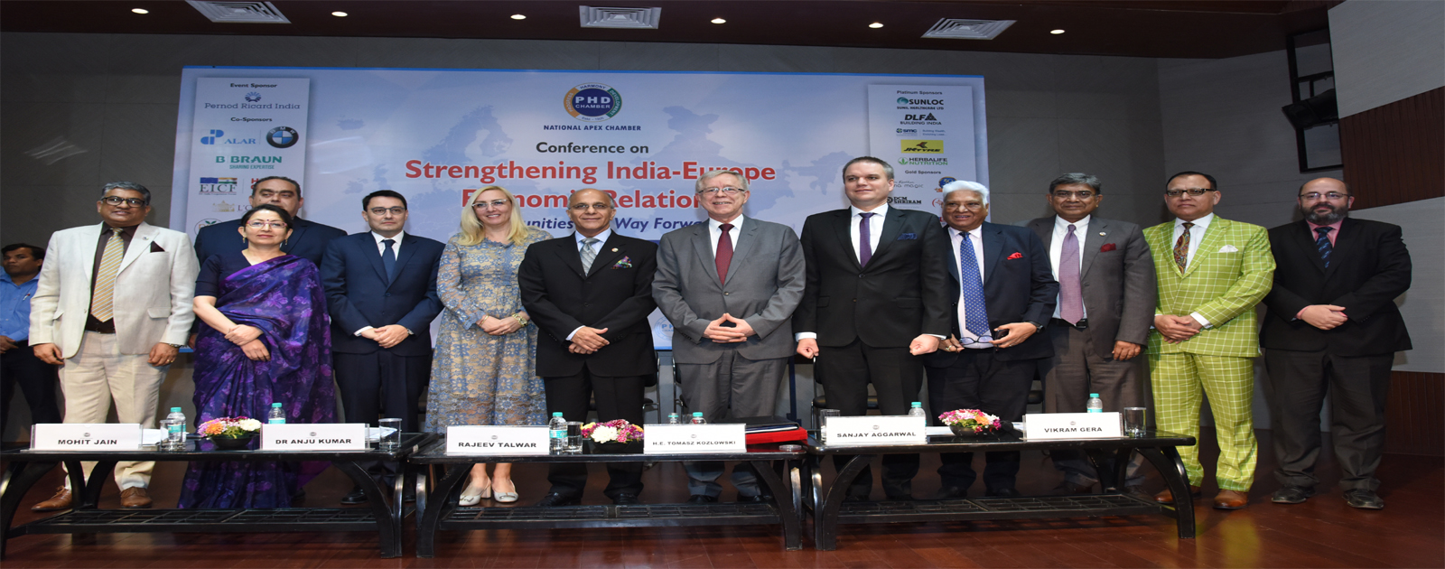 "Conference on ""Strengthening India-Europe Economic Relations – Opportunities and Way Forward"""