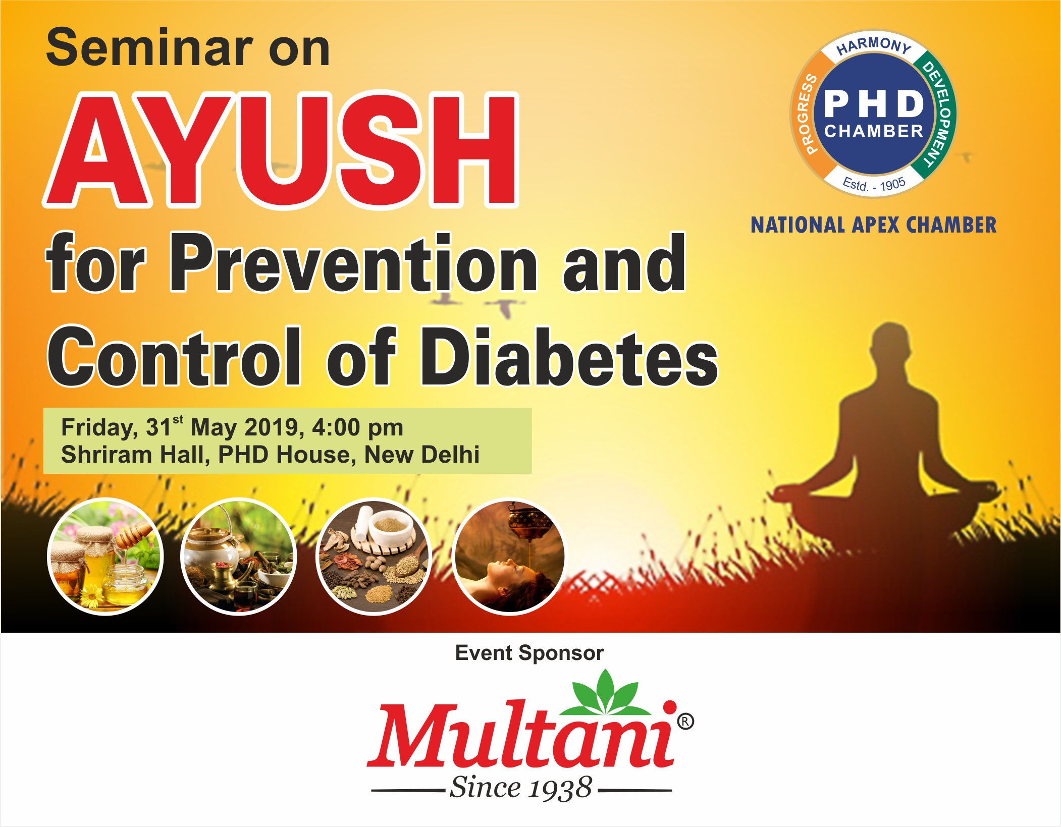 Seminar on AYUSH for Prevention and Control of Diabetes