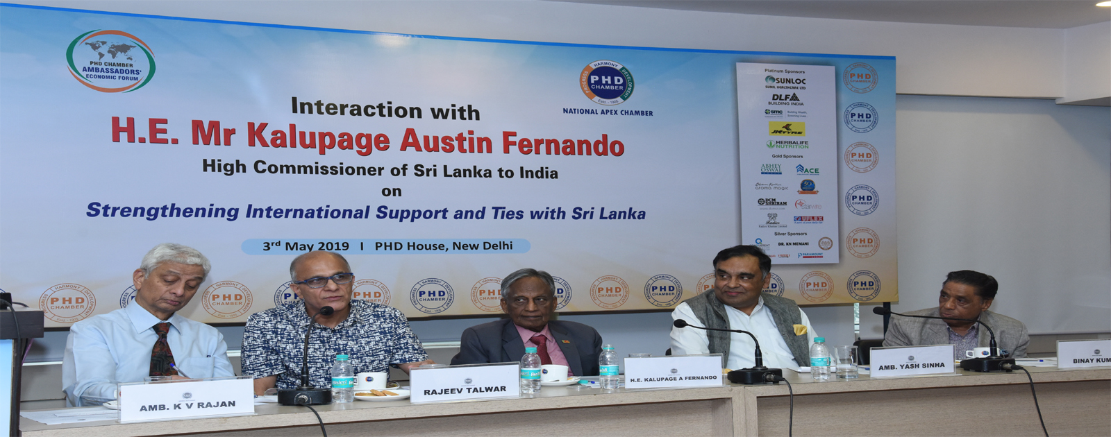 Interactive Session with H.E. Mr Kalupage Austin Fernando, High Commissioner of Sri Lanka to India