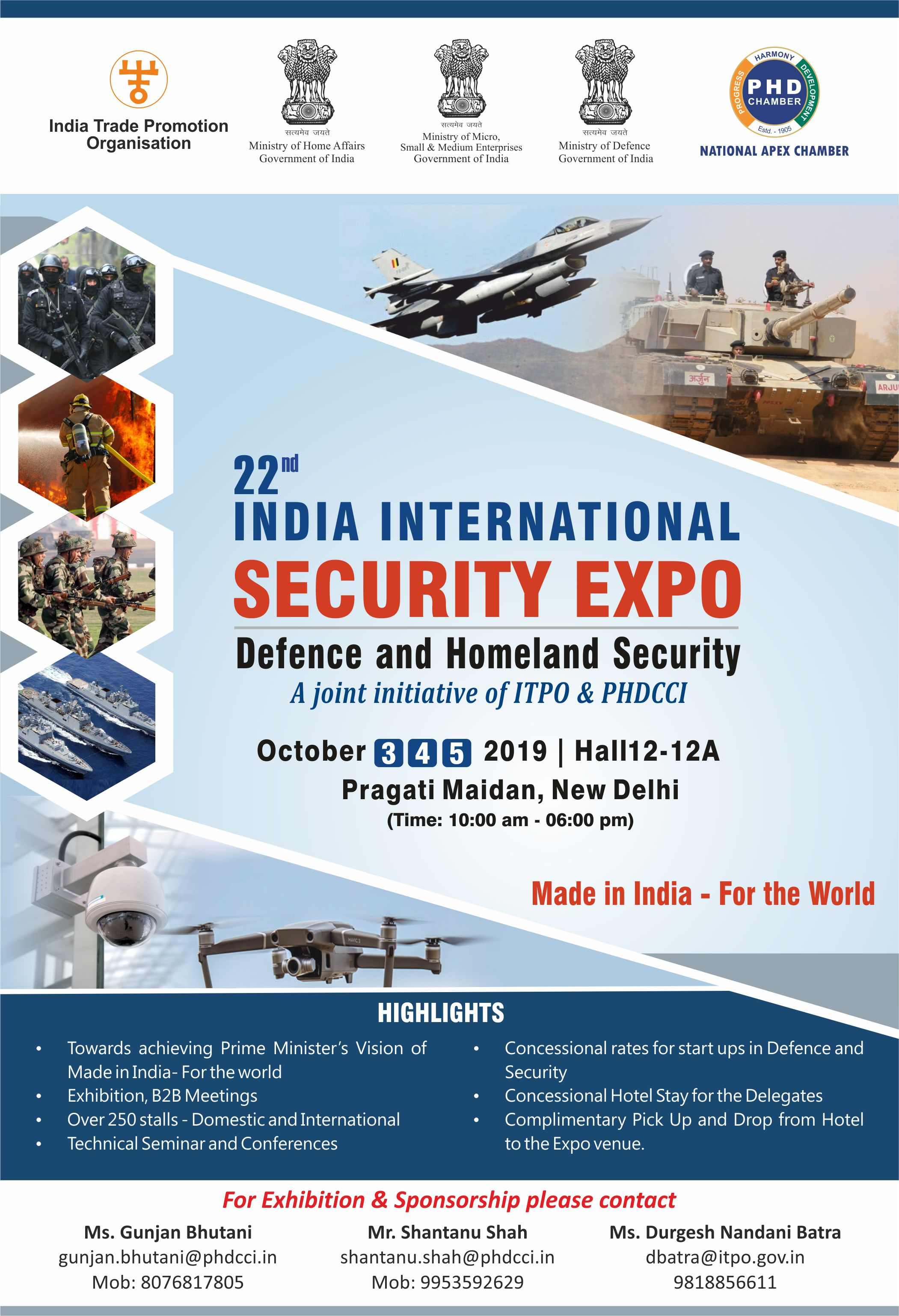 22nd Indian International Security Expo