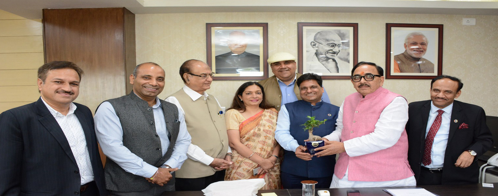 Call on Meeting with Dr. Mahendra Nath Pandey, Hon'ble Union Minister of Skill Development & Entrepreneurship