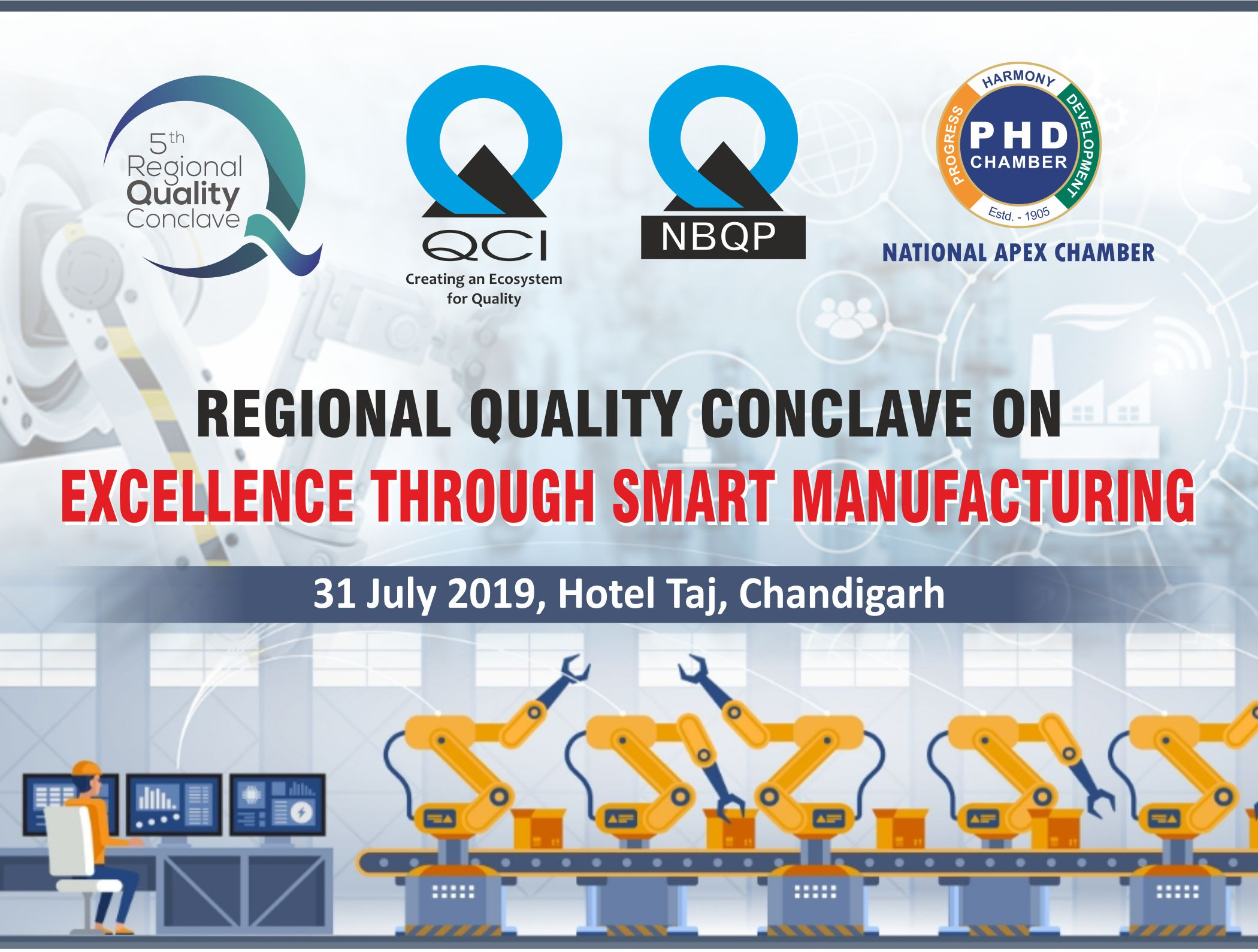 5th Regional Quality Conclave on Excellence through Smart Manufacturing