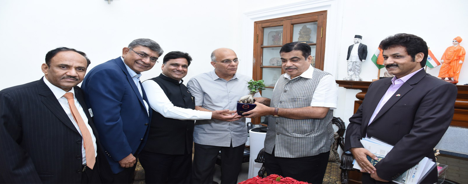 Call on Meeting with Mr Nitin Gadkari, Hon'ble Union Minister of Road Transport and Highways and Minister of Micro, Small and Medium Enterprises, Government of India