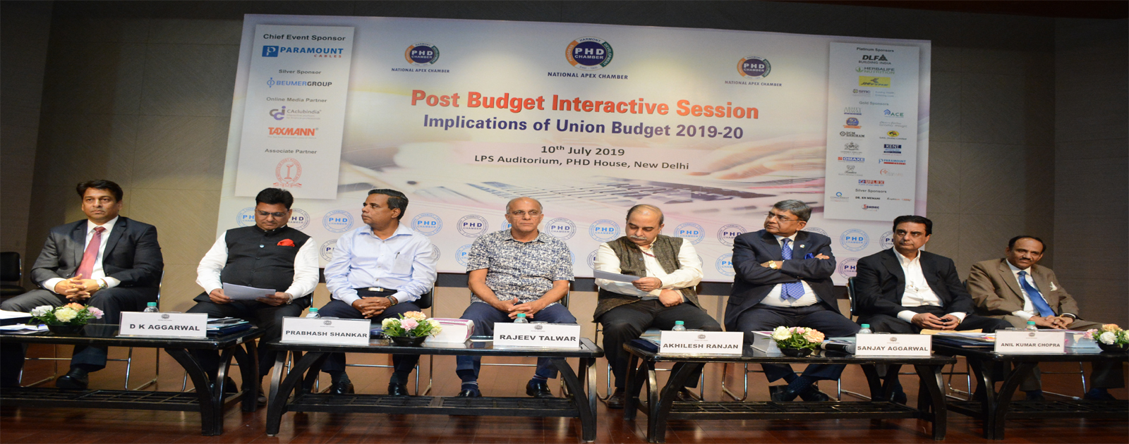 Post Budget Interactive Session – Implications of Union Budget 2019-20