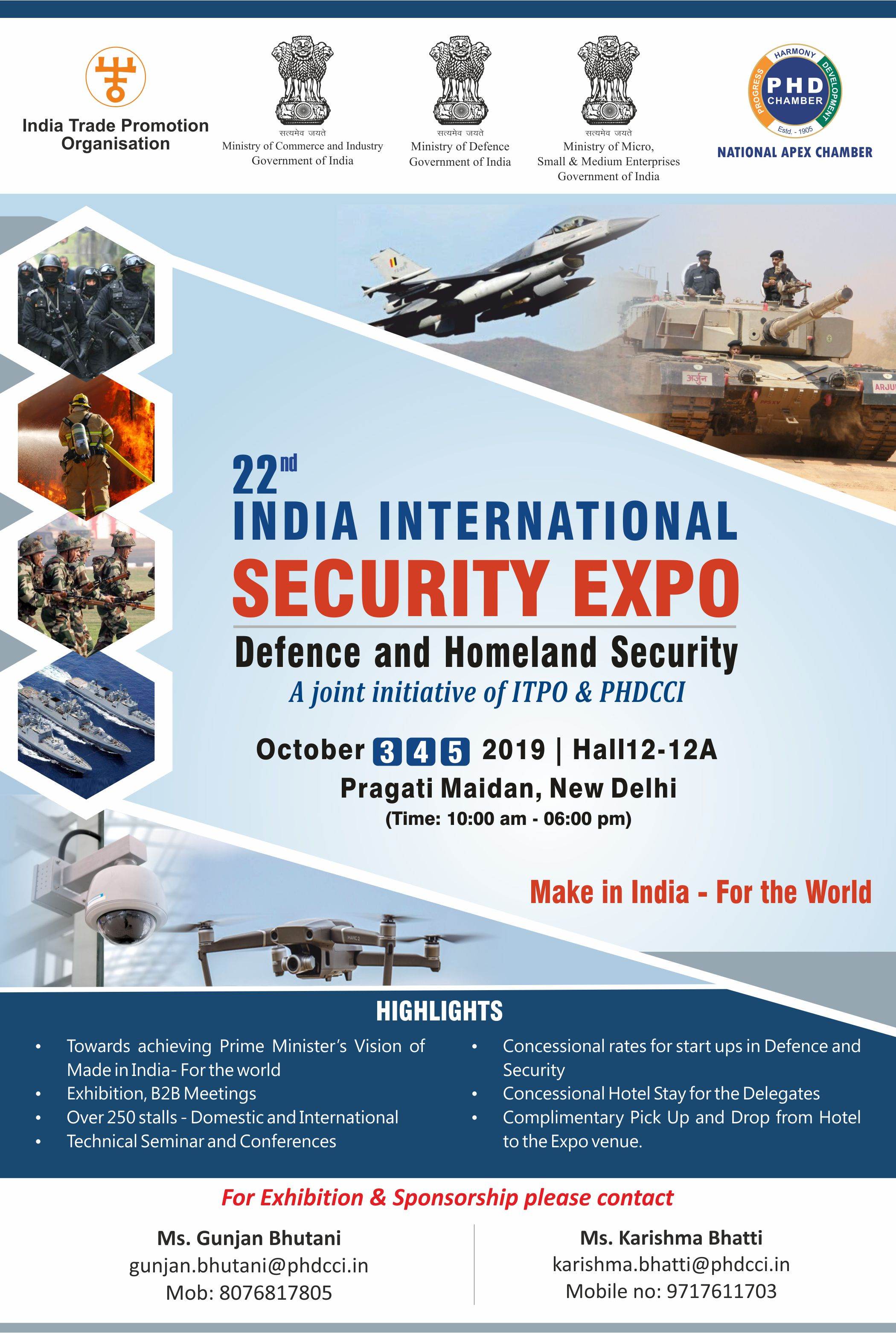 22nd India International Security Expo