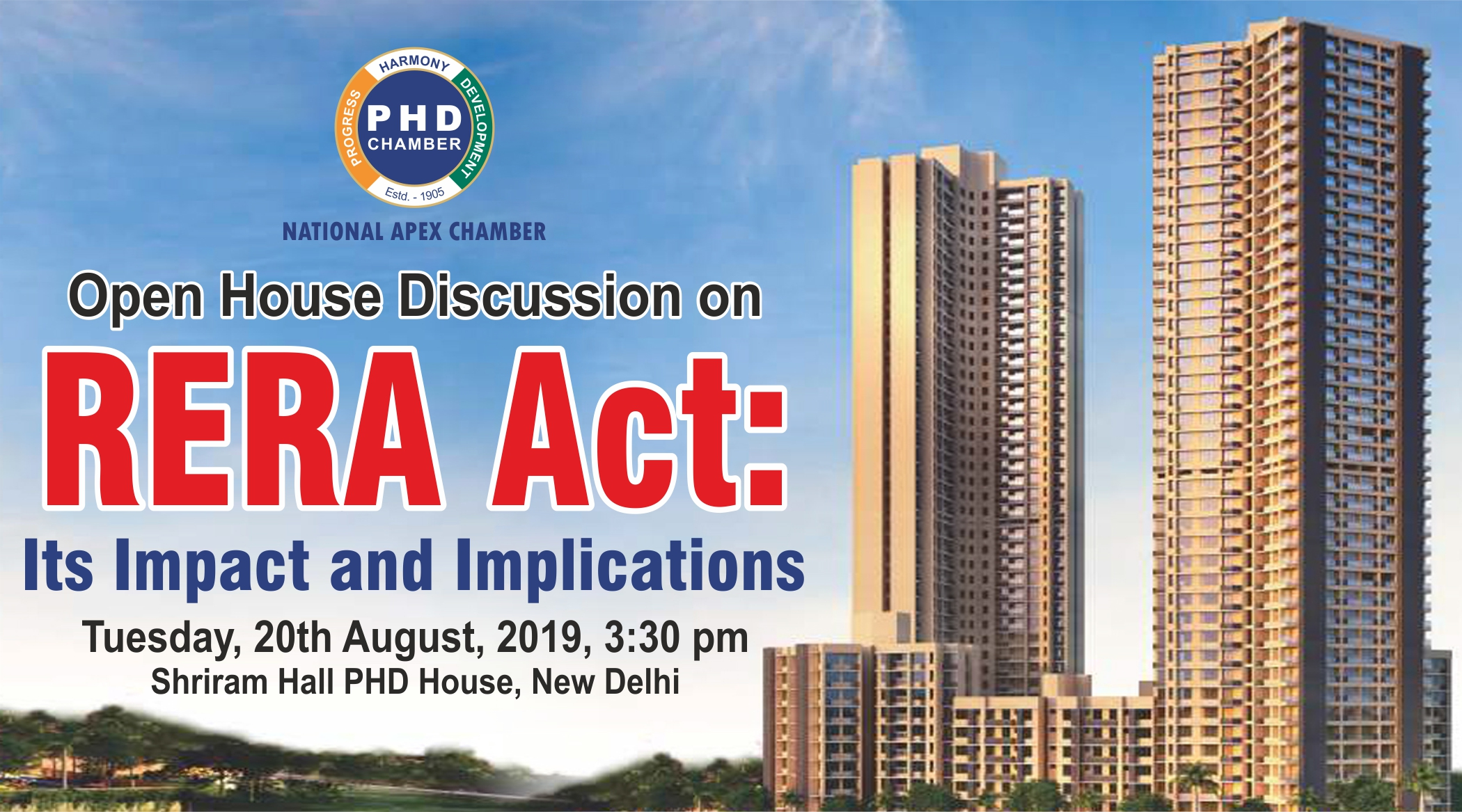 Open House Discussion on RERA Act: Its Impact and Implications