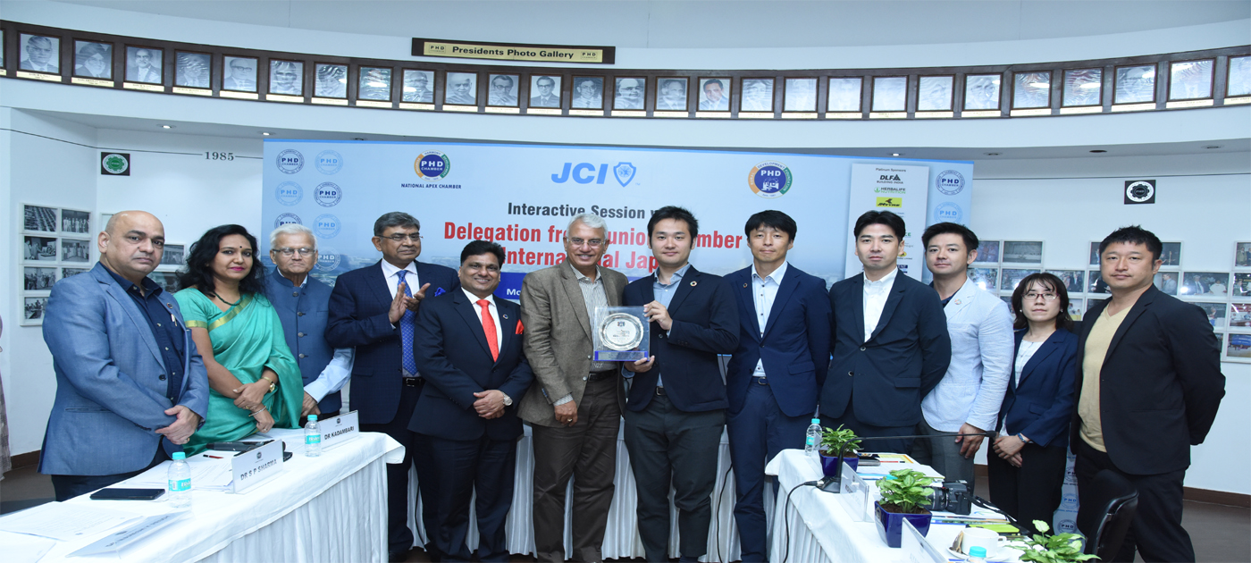 Interactive Session with Delegation from Junior Chamber International Japan