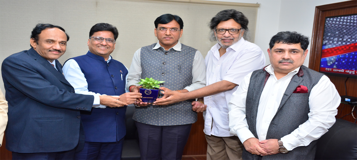 Call on meeting with Shri. Mansukh L Mandaviya, Hon'ble Minister of State, Ministry of Chemicals & Fertilizers, Govt. of India