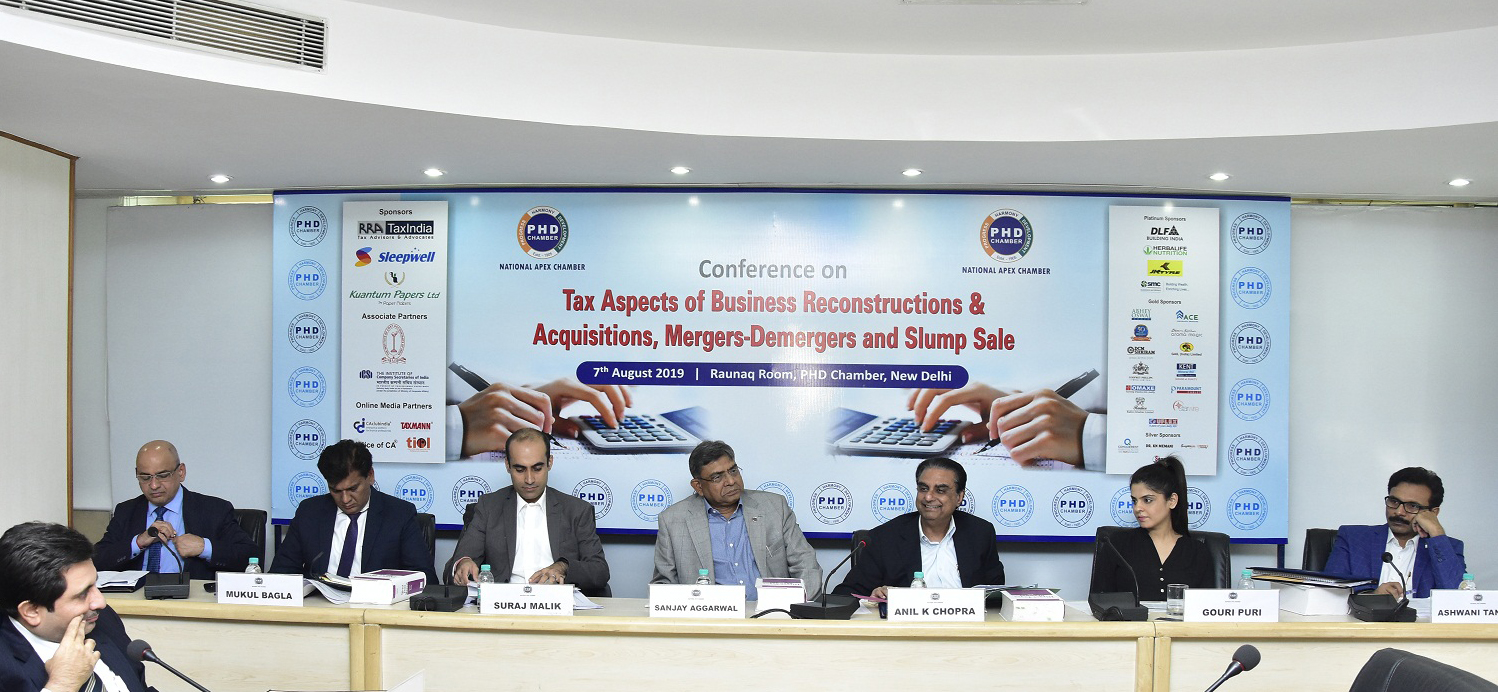 Conference on Tax Aspects of Business Reconstructions & Acquisitions, Mergers-Demergers and Slump Sales