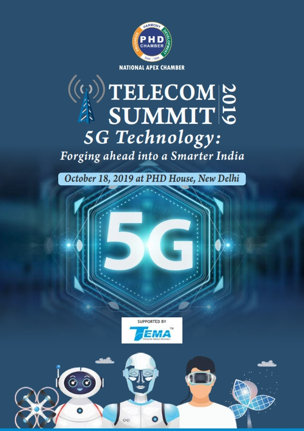 Telecom Summit 2019 '5G Technology: Forging ahead into a Smarter India'
