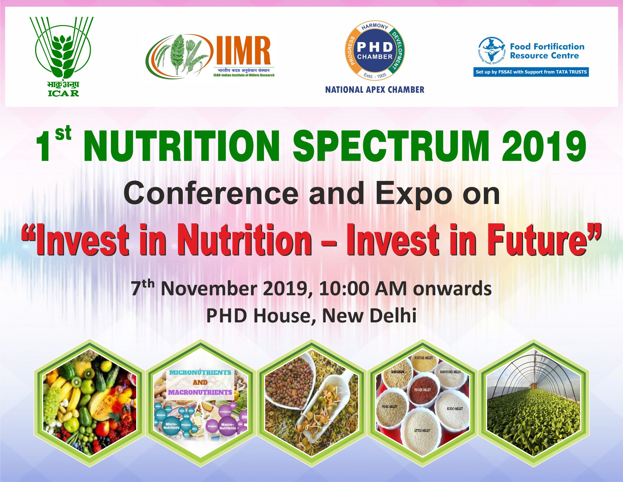 "1st Nutrition Spectrum 2019 Conference and Expo on ""Invest in Nutrition- Invest in Future"""