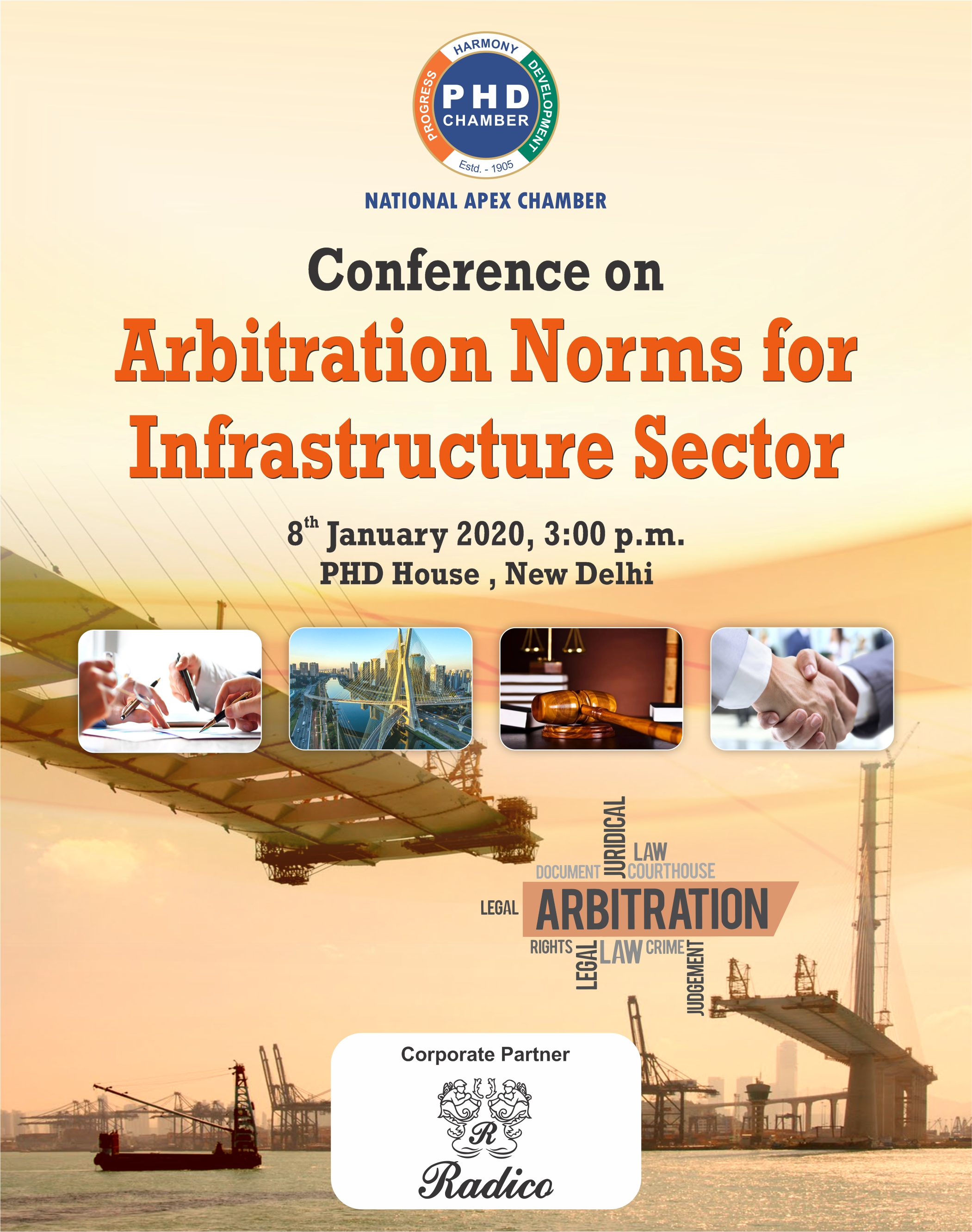 Conference on Arbitration Norms for Infrastructure Sector