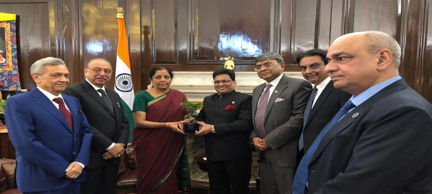 Call on Meeting with Mrs Nirmala Sitharaman, Union Minister of Finance, Government of India
