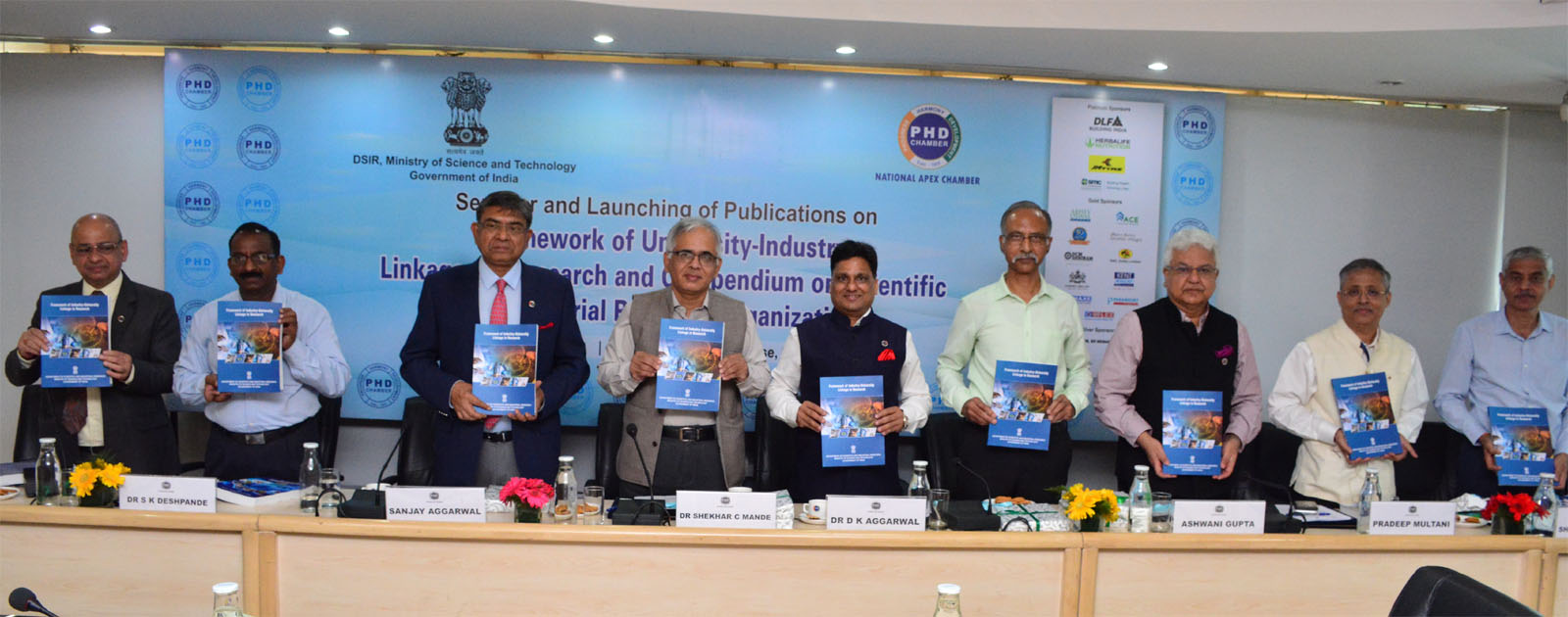 Seminar and Launching of Publications of Framework of University-Industry Linkages in Research