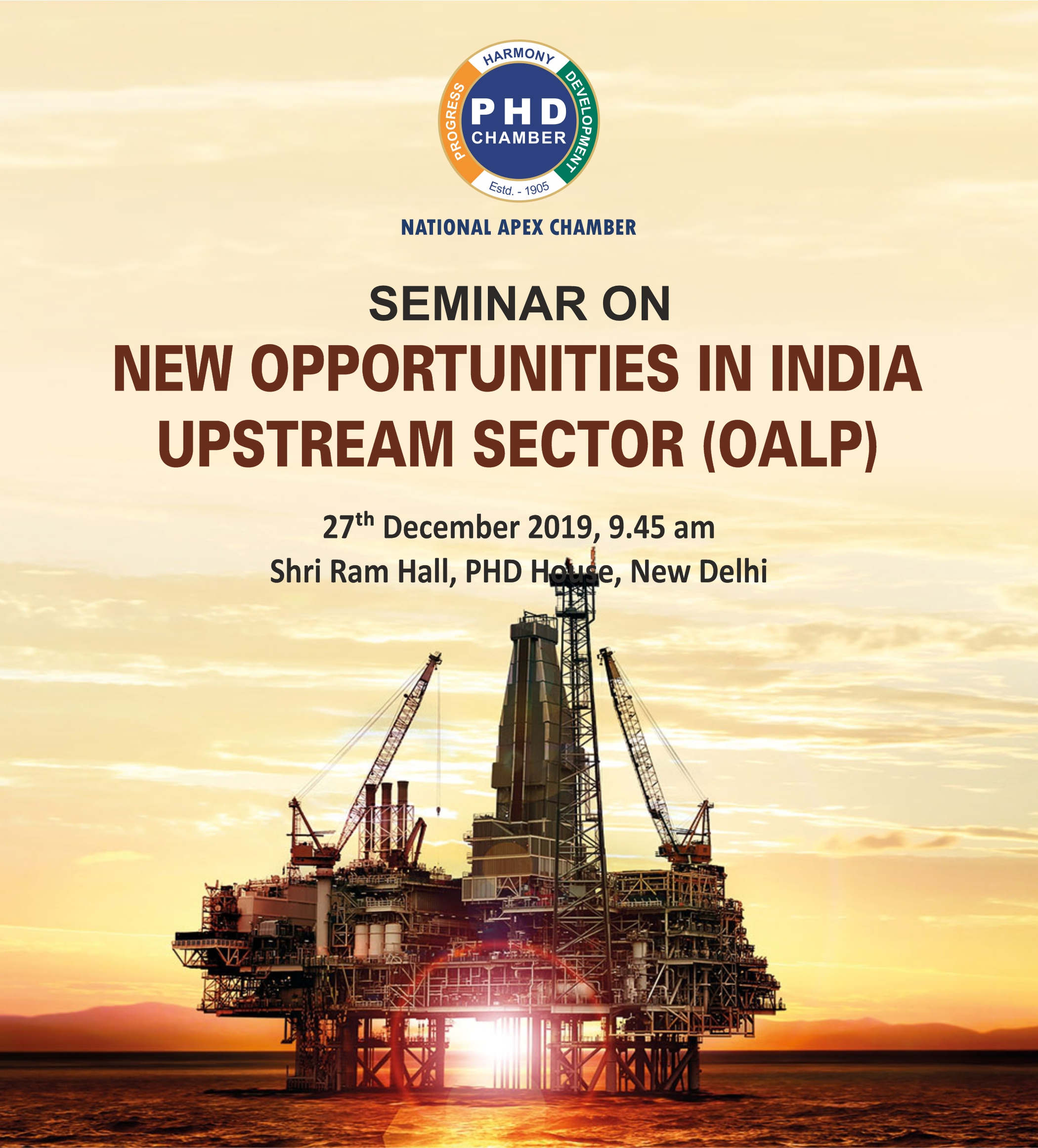 Seminar on- New Opportunities in India Upstream Sector (OALP)