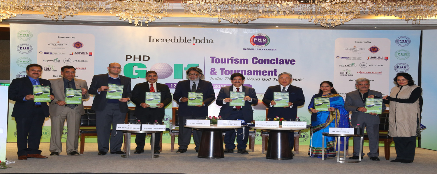 PHD Golf Tourism Conclave & Tournament