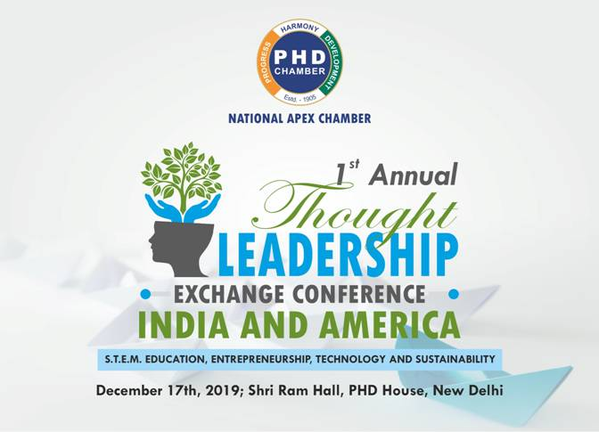 First Annual Thought Leadership Exchange Conference between India and America
