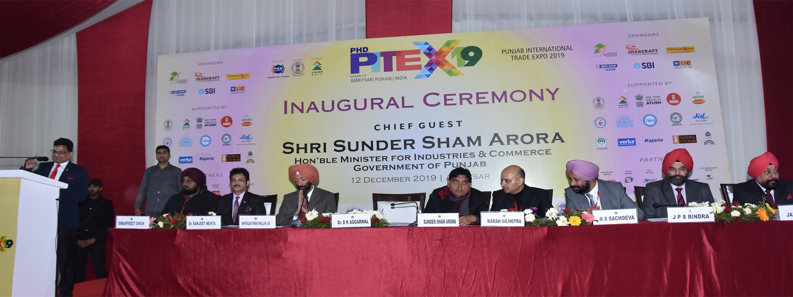 PITEX-2019 – Inaugural Ceremony